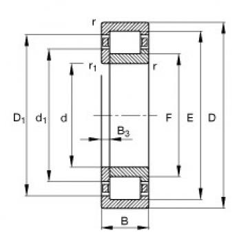 المحامل NUP2307-E-TVP2 FAG