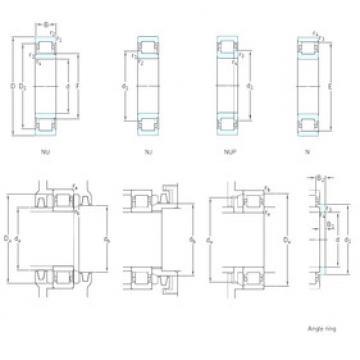 المحامل NU20/530ECMA SKF