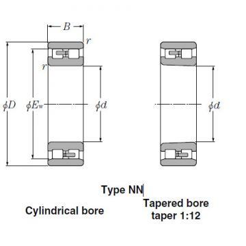 Bearings Cylindrical Roller Bearings NN3960