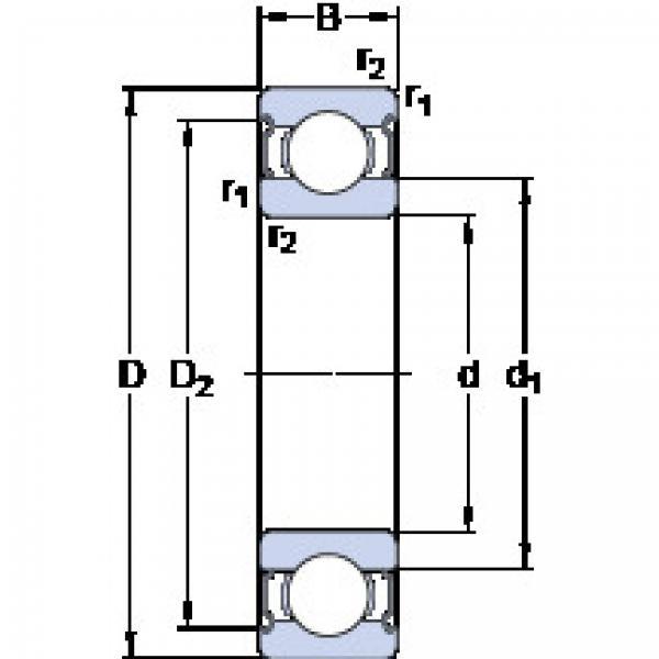 المحامل 635-2RS1 SKF #1 image