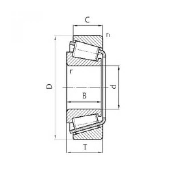 المحامل 331054CC- Q-CL7C/M88010-2-QCL7A SKF #1 image