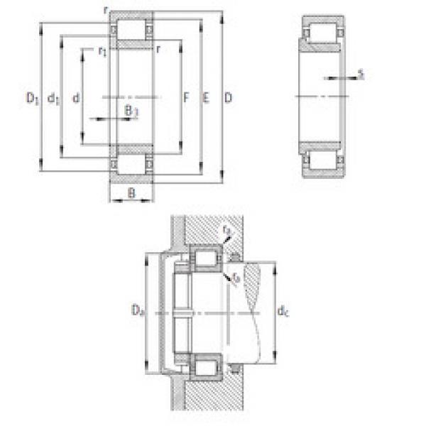 المحامل NUP2344-EX-M1 FAG #1 image