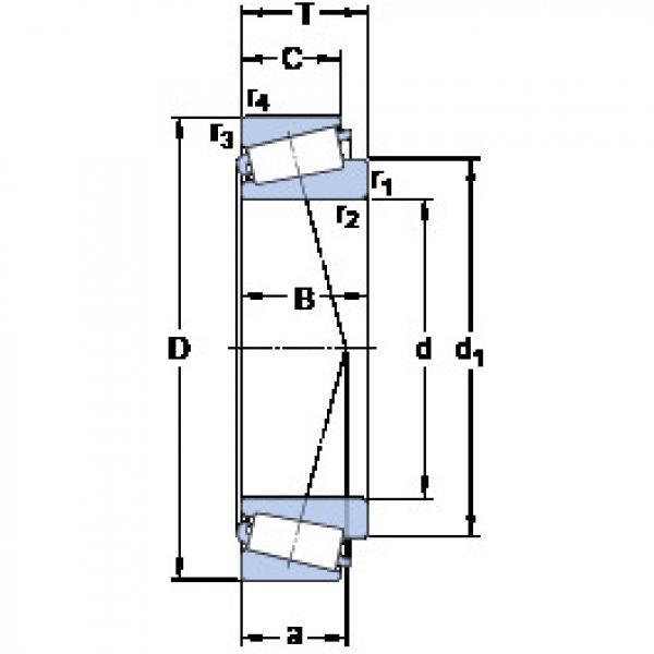 المحامل 33016/Q SKF #1 image