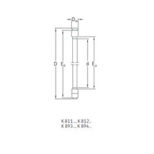 المحامل K89413TN SKF #1 image