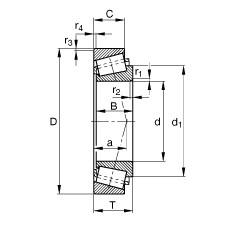 FAG Kegelrollenlager - KL68149-L68110