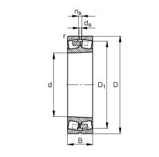 FAG محامل كروية - 232/560-K-MB