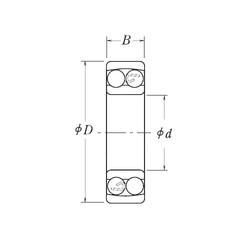 Bearing NMJ5/8 RHP