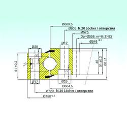المحامل ZB1.25.0663.200-1SPPN ISB
