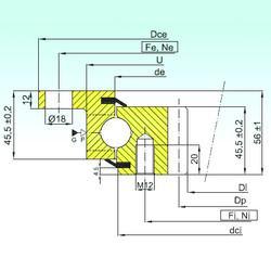 المحامل ZBL.20.1094.201-2SPTN ISB