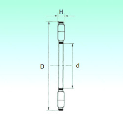 المحامل K89448-M NBS