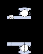 المحامل YAT 205-100 SKF