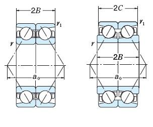 Bearing BT250-2 DB