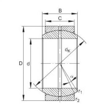FAG Radial-Gelenklager - GE35-DO