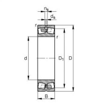 FAG محامل كروية - 232/600-B-MB