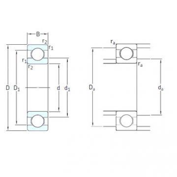 المحامل 6200-2RSLTN9/HC5C3WT SKF
