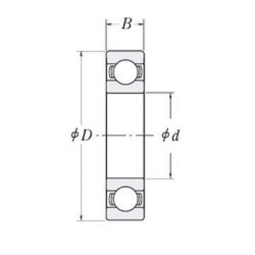 المحامل XLJ1.1/2 RHP
