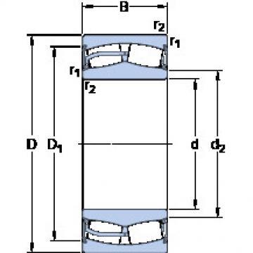 المحامل 24013-2RS5W/VT143 SKF