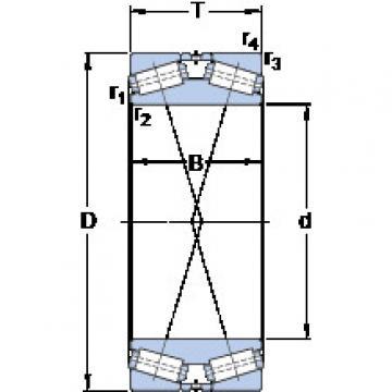 المحامل 332129 A/HA4 SKF