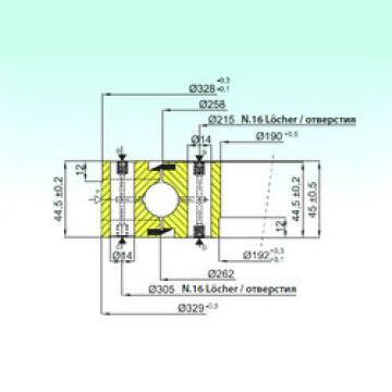 المحامل NB1.20.0260.200-1PPN ISB