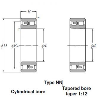 Bearings Cylindrical Roller Bearings NN3960