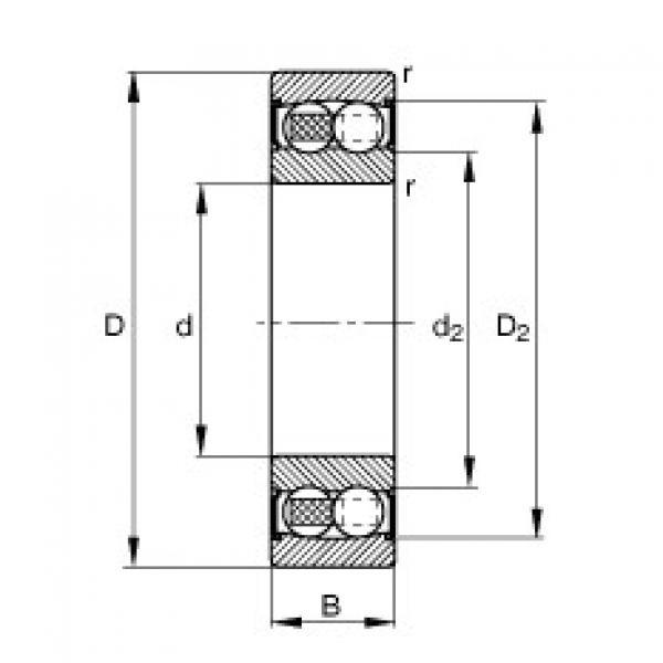 Bearing 2212-2RS-TVH FAG #1 image