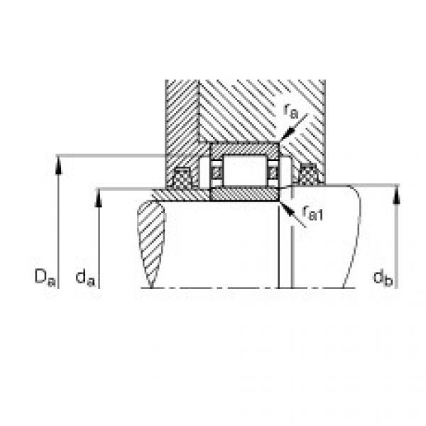 FAG Zylinderrollenlager - NU1006-XL-M1 #3 image