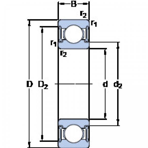 المحامل W 61901-2RZ SKF #1 image
