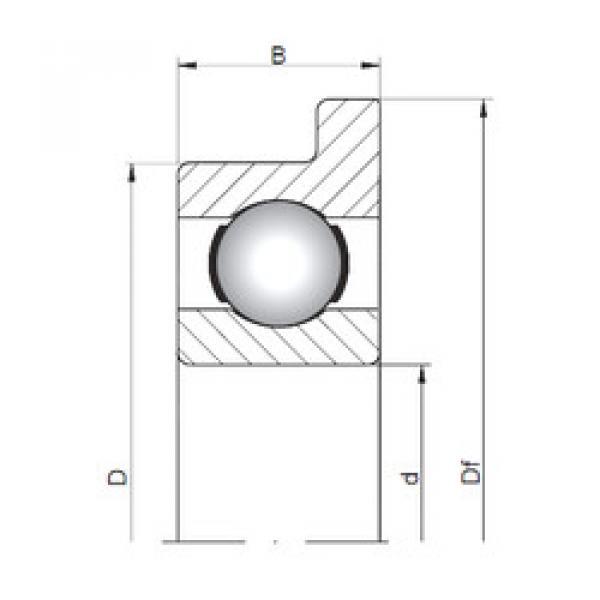 المحامل FL619/1,5 ISO #1 image