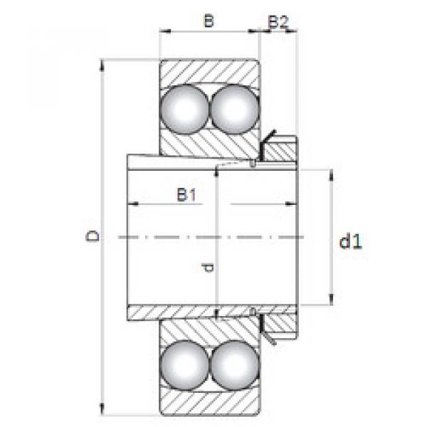 Bearing 2221K+H321 CX #1 image