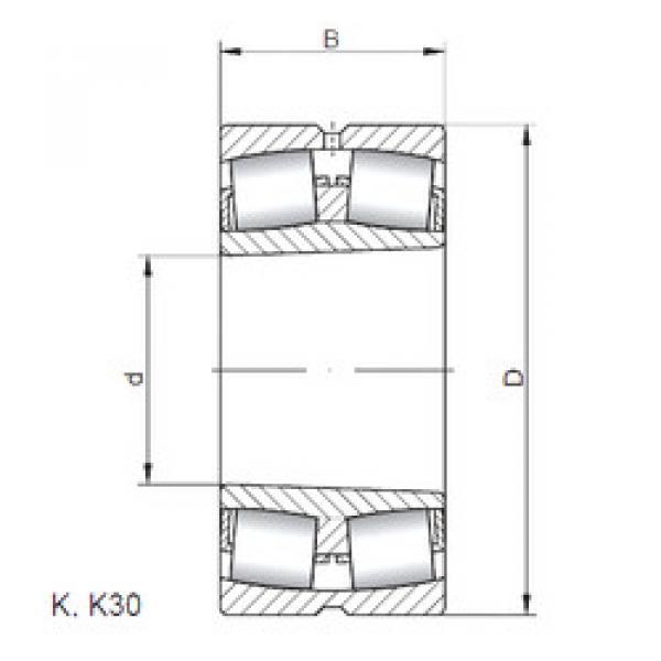 المحامل 22260 KCW33 CX #1 image