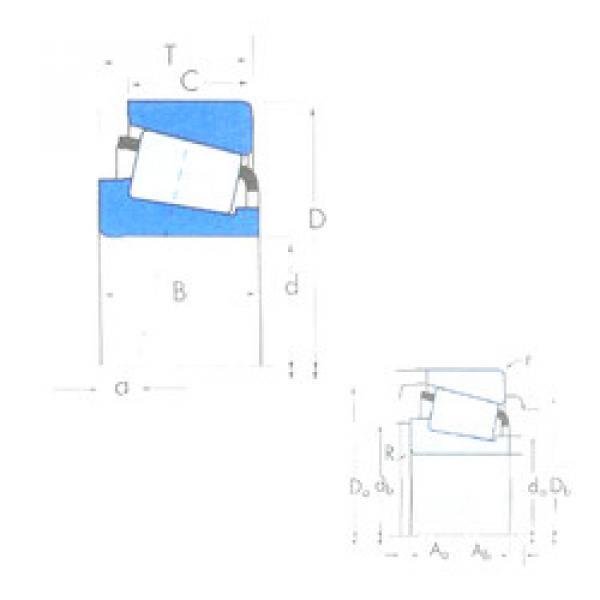 المحامل HM212049/HM212010 Timken #1 image