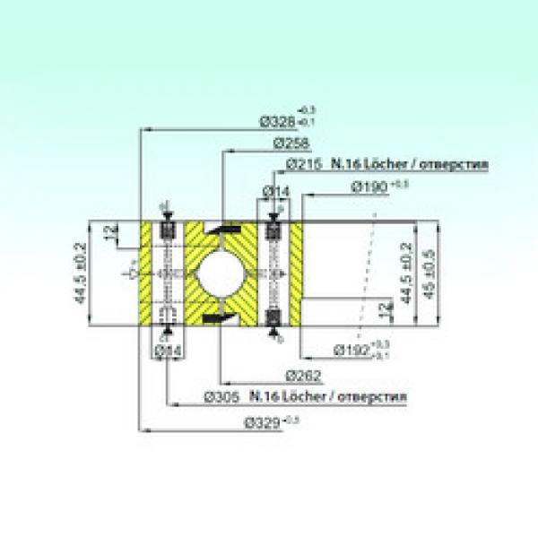 المحامل NB1.20.0260.200-1PPN ISB #1 image