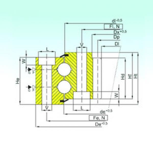 المحامل ZB2.40.1386.401-1SPPN ISB #1 image